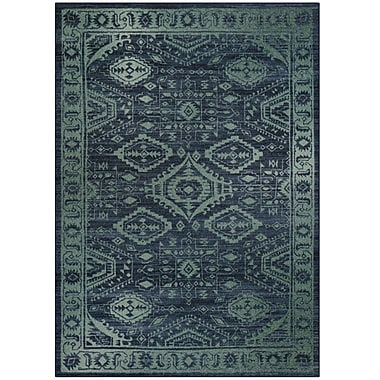 Maples Rugs Jenny Blue Area Rug; 5' x 7'