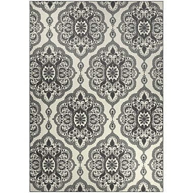 Maples Rugs Fiona Gray Area Rug; 7' x 10'