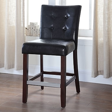 BestMasterFurniture 40'' Bar Stool (Set of 2); Black