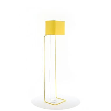 frauMaier ThinLissie 62'' LED Floor Lamp; Yellow