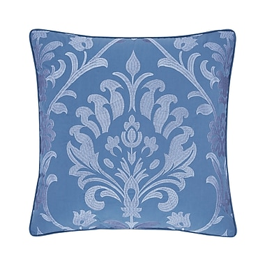 Five Queens Court Palmetto Caribbean Square Throw Pillow
