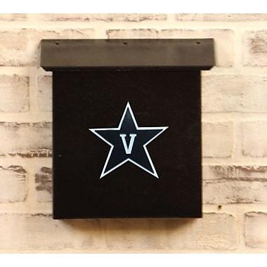 HensonMetalWorks NCAA Wall Mounted Mailbox; Vanderbilt University