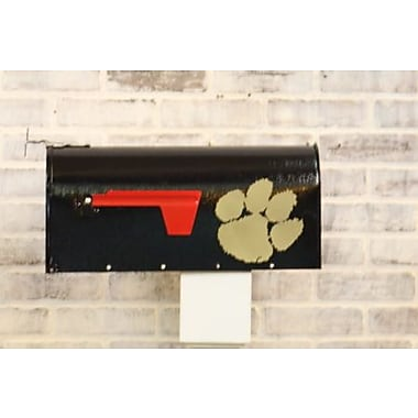 HensonMetalWorks NCAA Curbside Wall Mounted Mailbox; Clemson University