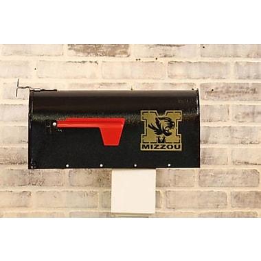 HensonMetalWorks NCAA Curbside Wall Mounted Mailbox; University of Missouri