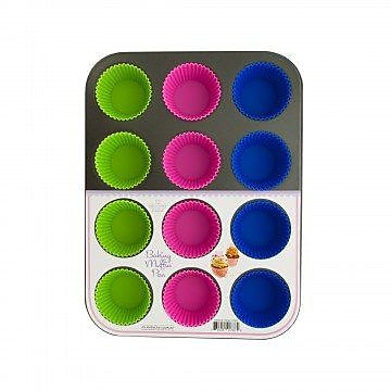 KoleImports 12-Cup Muffin Baking Pan WYF078280143403