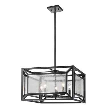Brayden Studio Silverstein 5-Light Foyer Pendant