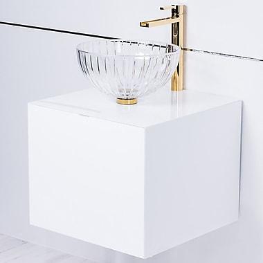 MaestroBath Dora Lacquered 20'' Single Bathroom Vanity