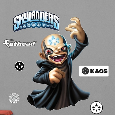 Fathead Skylanders Activision - Kaos Junior Peel and Stick Wall Decal WYF078278047797