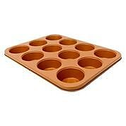 Gotham Steel Muffin Baking Pan Non-stick Ti Cerama