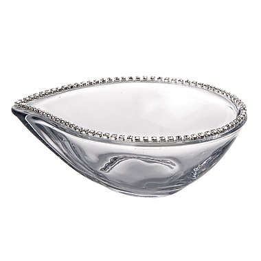 ClassicTouch Oval Candy Bowl