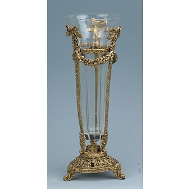 ClassicTouch Crystal Vase