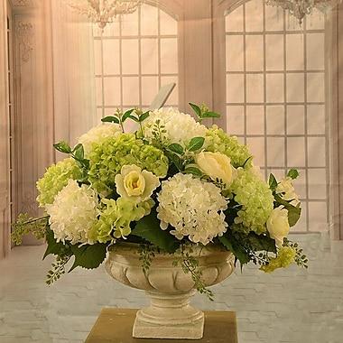 Floral Home Decor Hydrangea Large Silk Flower Arrangement