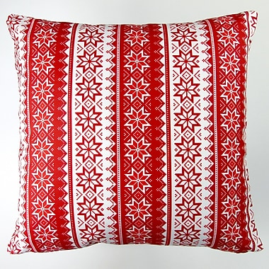 Artisan Pillows Christmas Stars Stripes Throw Pillow Cover