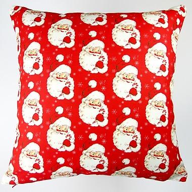 Artisan Pillows Christmas Hi Santa Throw Pillow