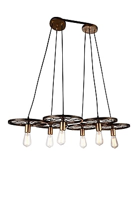 CrystalWorld Ravi 6-Light Pendant