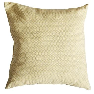 Swan Dye and Printing Hand Motif Cotton Throw Pillow