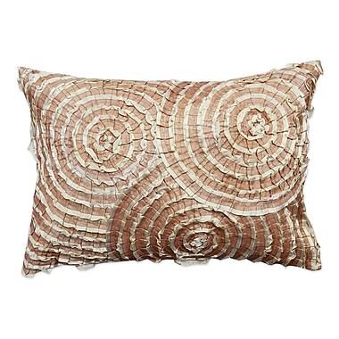 A1 Home Collections LLC Spiral Cotton Throw Pillow