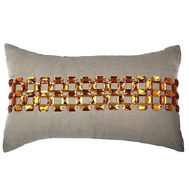A1 Home Collections LLC Beaver Cotton Lumbar Pillow