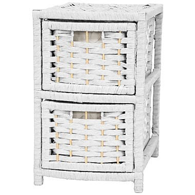 Oriental Furniture Occasional 2 Drawer Chest