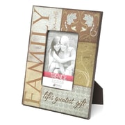 Timeless Frames Trendz Family Decoupage Tabletop Photo Frame