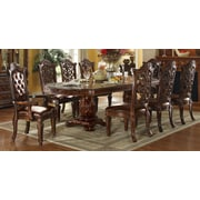 A&J Homes Studio Vendome Floral Carved Side Chair