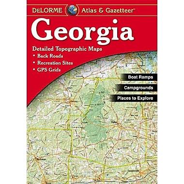 Universal Map Georgia Atlas/Gazetteer