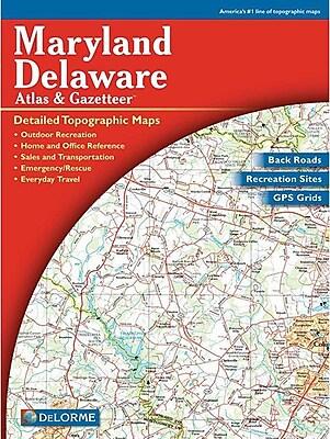 Universal Map Maryland/Delaware Atlas/Gazetteer