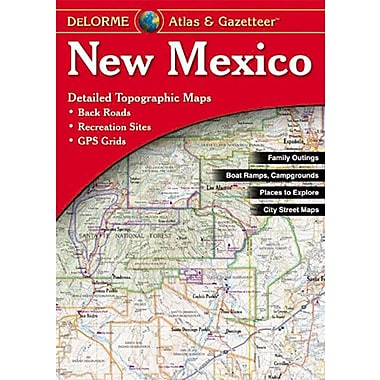 Universal Map New Mexico Atlas/Gazetteer
