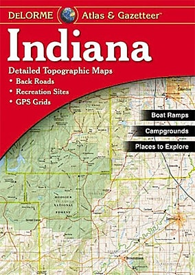 Universal Map Indiana Atlas/Gazetteer