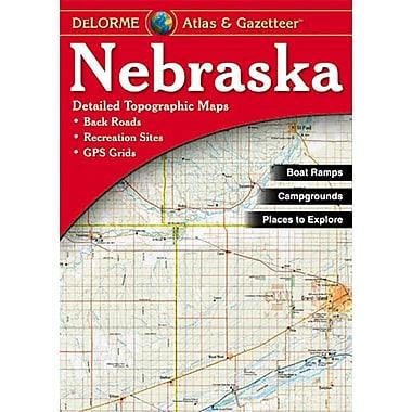 Universal Map Nebraska Atlas/Gazetteer
