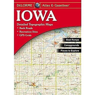 Universal Map Iowa Atlas/Gazetteer