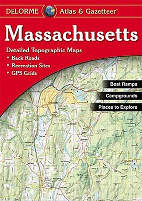 Universal Map Massachusetts Atlas/Gazetteer