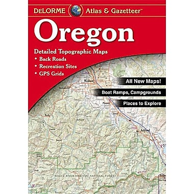 Universal Map Oregon Atlas/Gazetteer