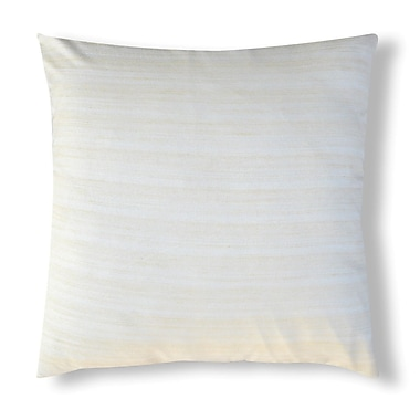A1 Home Collections LLC Handcrafted Organza Throw Pillow; Off White