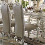 A&J Homes Studio Versailles Side Chair; Bone White