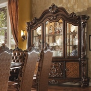 A&J Homes Studio Versailles China Cabinet; Cherry Oak
