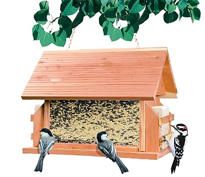 Perky Pet The Lodge Hopper Bird Feeder (WYF078277964894) photo