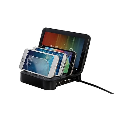 Bytech Black Universal Charging Station for Mobile Device (BY-CS-04-100-BK)