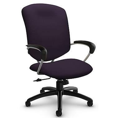 Supra High Back Tilter, 'Terrace - Flirt' Fabric, Purple