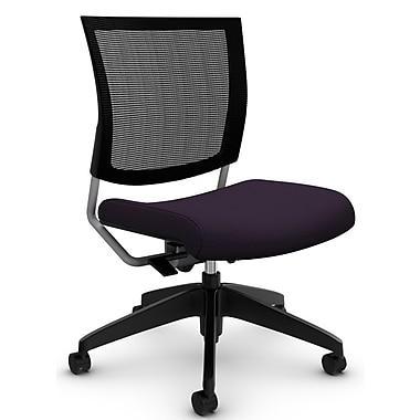 Graphic Med Mesh Back Posture, 'Terrace - Flirt' Fabric, Purple (2736MB TC73)