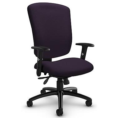 Supra-X HB Multi-Tilter, 'Terrace - Flirt' Fabric, Purple