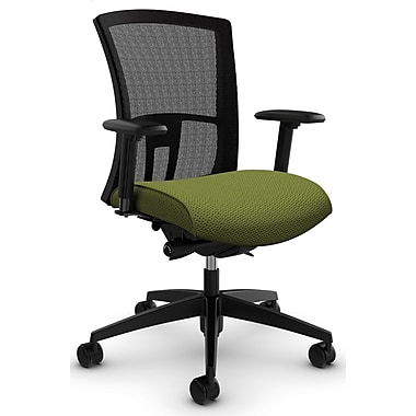 Vion MB Synchro-Tilter w/Back Angle Adj, 'Terrace - Apple' Fabric, Green