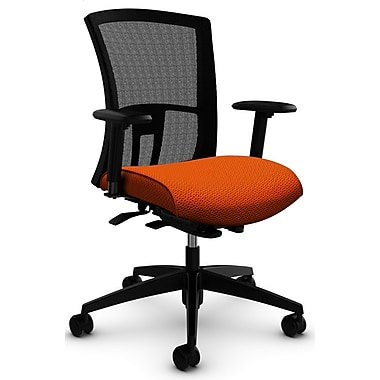Vion MB Weight Sensing Synchro-Tilter, 'Terrace - Tigerlily' Fabric, Orange