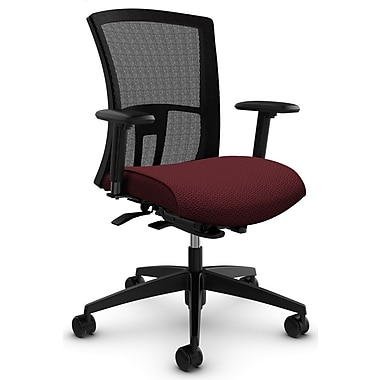 Vion MB Weight Sensing Synchro-Tilter, 'Terrace - Cerise' Fabric, Red