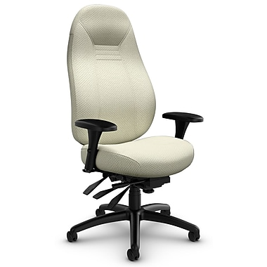 ObusForme Comfort HB Heavy Duty Multi-Tilter, 'Terrace - Lotus' Fabric, Cream