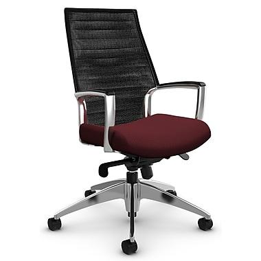 Global Accord HB Knee-Tilter, 'Terrace - Cerise' Fabric, Red (2676-2 TC68VU19)