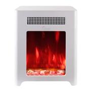 Luxury Portable Mini Indoor Compact Freestanding Electric Fireplace