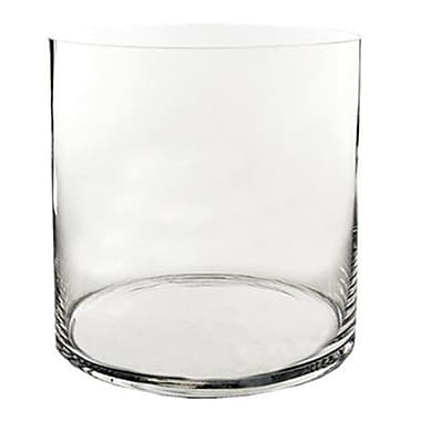 CYSExcel Glass Cylinder Wedding Vase (Set of 2)