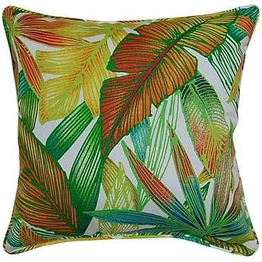 Creative Home Cantrel Outdoor Throw Pillow; Spring