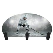 Next Innovations Hockey Player 3 Hook Coat Rack